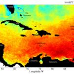 Caribbean warming trends from Chollett et al